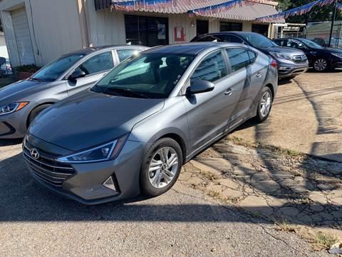 2019 Hyundai Elantra for sale in Sardis, MS