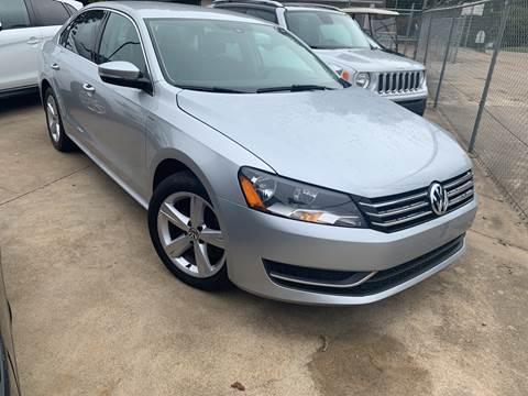 2014 Volkswagen Passat for sale in Sardis, MS