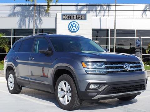 2019 Volkswagen Atlas for sale in Delray Beach, FL