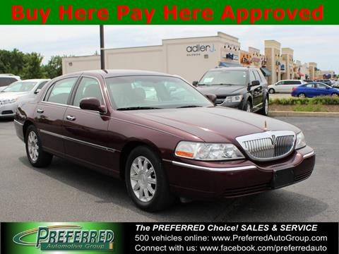 2006 Lincoln Town Car for sale in Auburn, IN