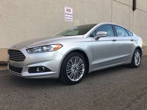 2015 Ford Fusion for sale at International Auto Sales in Hasbrouck Heights NJ