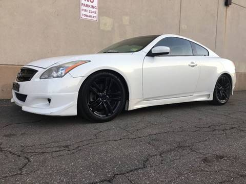 2009 Infiniti G37 Coupe for sale at International Auto Sales in Hasbrouck Heights NJ