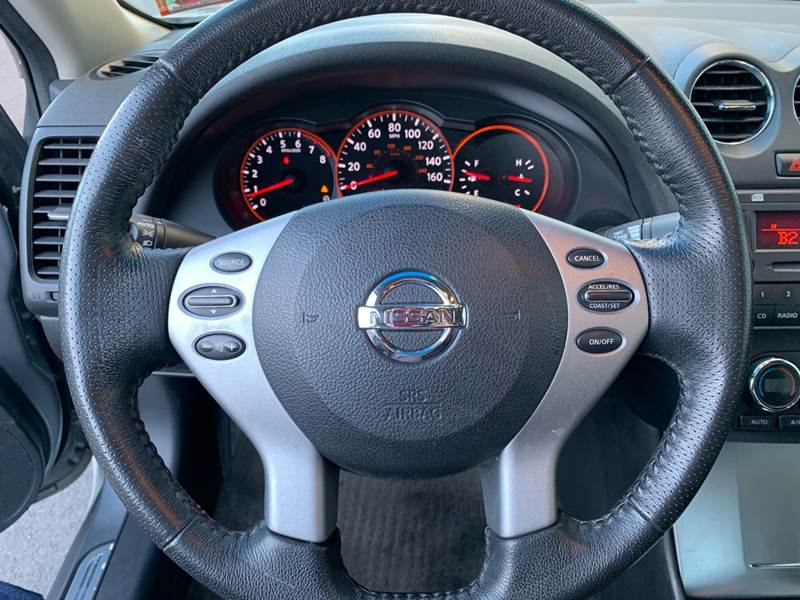 2008 nissan altima steering wheel lock