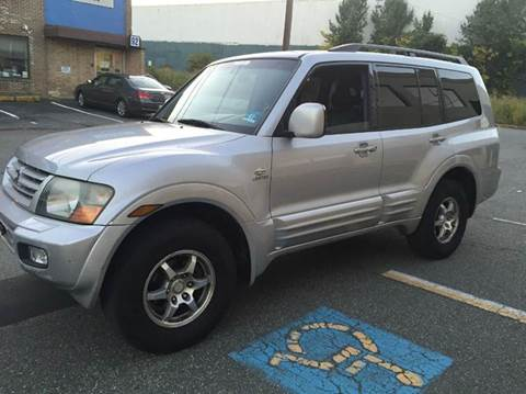 2002 Mitsubishi Montero for sale at International Auto Sales in Hasbrouck Heights NJ