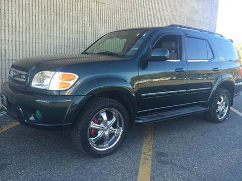 2002 Toyota Sequoia for sale at International Auto Sales in Hasbrouck Heights NJ