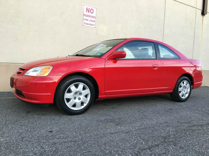 2002 Honda Civic EX 2dr Coupe   Hasbrouck Heights NJ