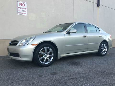 2006 Infiniti G35 for sale at International Auto Sales in Hasbrouck Heights NJ