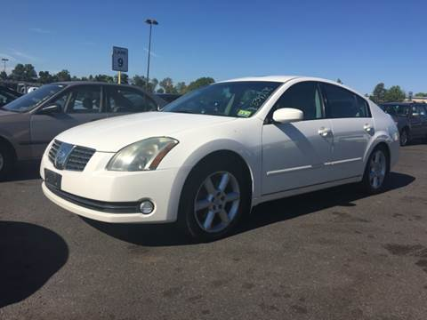 2006 Nissan Maxima for sale at International Auto Sales in Hasbrouck Heights NJ