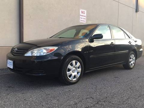 2003 Toyota Camry for sale at International Auto Sales in Hasbrouck Heights NJ