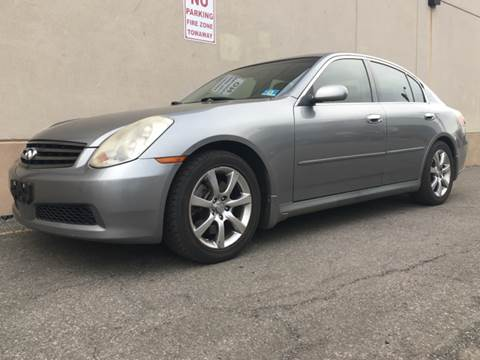 2005 Infiniti G35 for sale at International Auto Sales in Hasbrouck Heights NJ