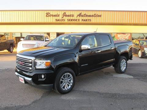 2015 GMC Canyon for sale at Bernie Jones Auto in Cambridge NE