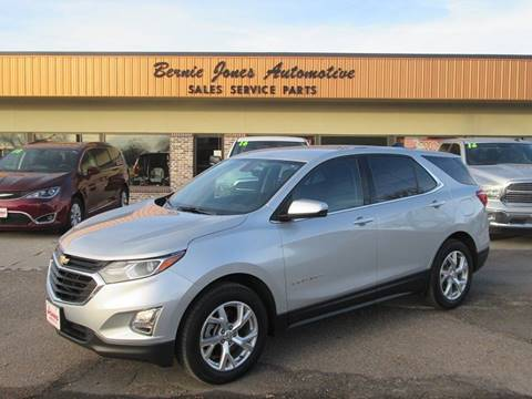 2018 Chevrolet Equinox for sale at Bernie Jones Auto in Cambridge NE