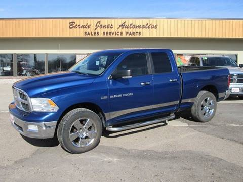 2011 RAM Ram Pickup 1500 for sale at Bernie Jones Auto in Cambridge NE