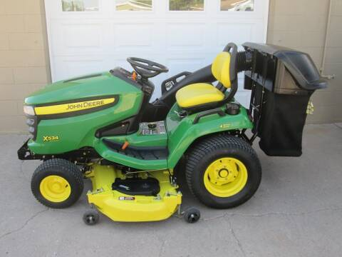 2010 John Deere X534 for sale at Bernie Jones Auto - Lawn and Garden in Cambridge NE