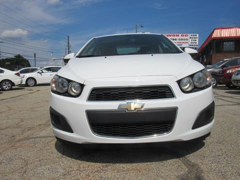 2015 Chevrolet Sonic for sale in Stone Mountain, GA