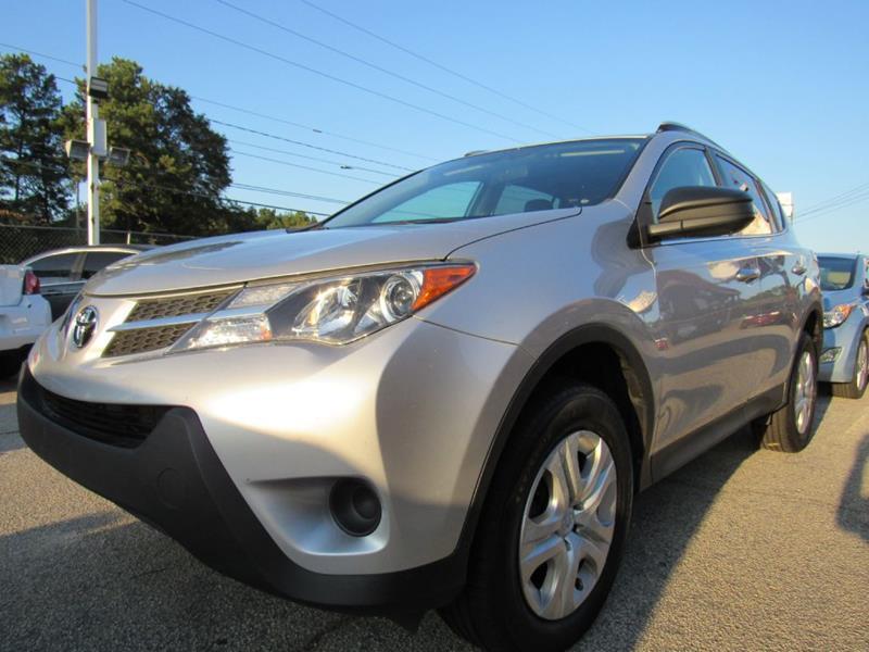 2015 Toyota RAV4 for sale at King of Auto in Stone Mountain GA