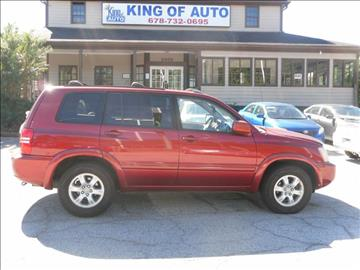 2003 Toyota Highlander for sale in Stone Mountain, GA