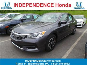 2017 Honda Accord for sale in Bloomsburg, PA