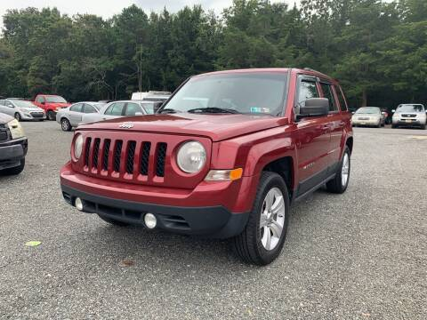 2012 Jeep Patriot for sale at Century Motor Cars in West Creek NJ
