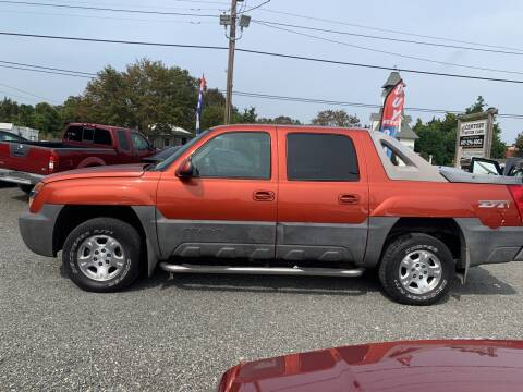 2003 Chevrolet Avalanche for sale at Century Motor Cars in West Creek NJ