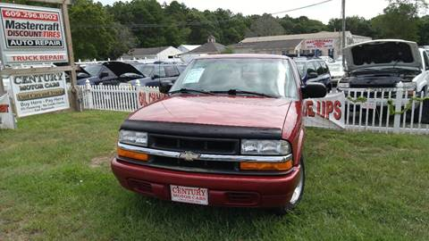 1999 Chevrolet S-10 for sale at Century Motor Cars in West Creek NJ