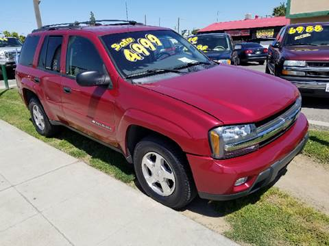 2003 Chevrolet TrailBlazer for sale at Showcase Luxury Cars II in Pinedale CA
