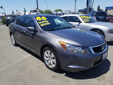 2008 Honda Accord for sale at Showcase Luxury Cars II in Pinedale CA