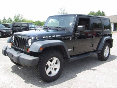 2011 Jeep Wrangler Unlimited for sale in Hooksett, NH