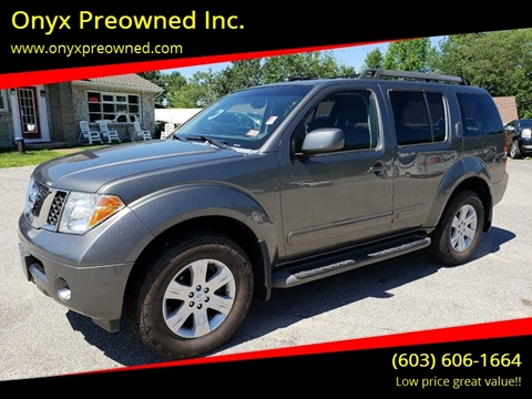 2005 Nissan Pathfinder For Sale In Hooksett, NH