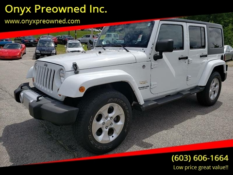 2013 Jeep Wrangler Unlimited for sale in Hooksett, NH