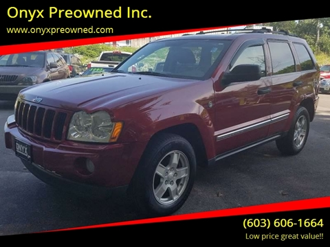 2005 Jeep Grand Cherokee for sale in Hooksett, NH