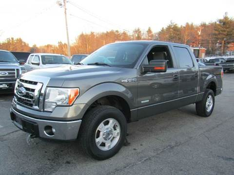 2012 Ford F-150 for sale in Hooksett, NH