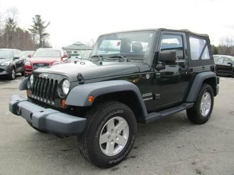2011 Jeep Wrangler for sale in Hooksett, NH