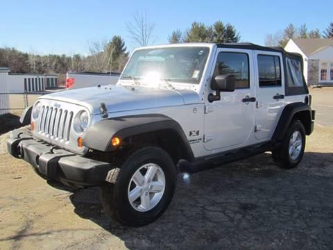 2007 Jeep Wrangler Unlimited for sale in Hooksett, NH