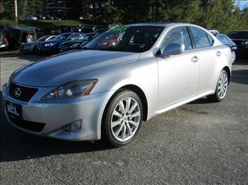 2007 Lexus IS 250 for sale in Hooksett, NH