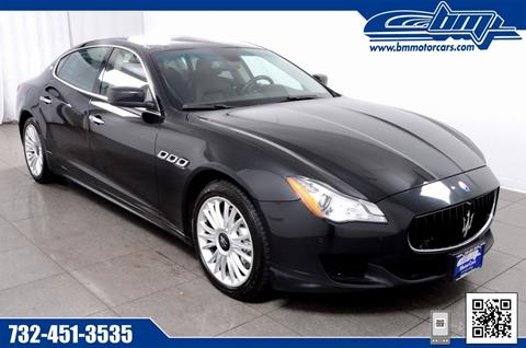 2014 Maserati Quattroporte for sale in Rahway, NJ
