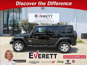 2016 Jeep Wrangler Unlimited for sale in Springdale, AR