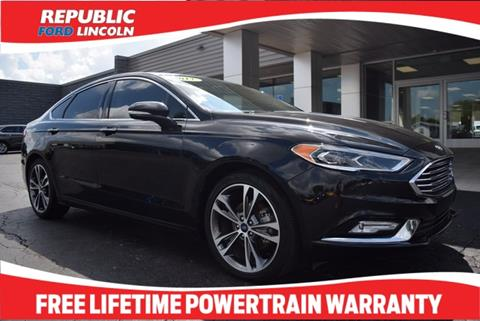 2017 Ford Fusion for sale in Republic, MO