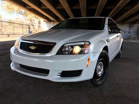 2012 Chevrolet Caprice for sale at MT Motor Group LLC in Phoenix AZ