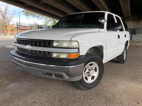 2001 Chevrolet Tahoe For Sale In Phoenix AZ