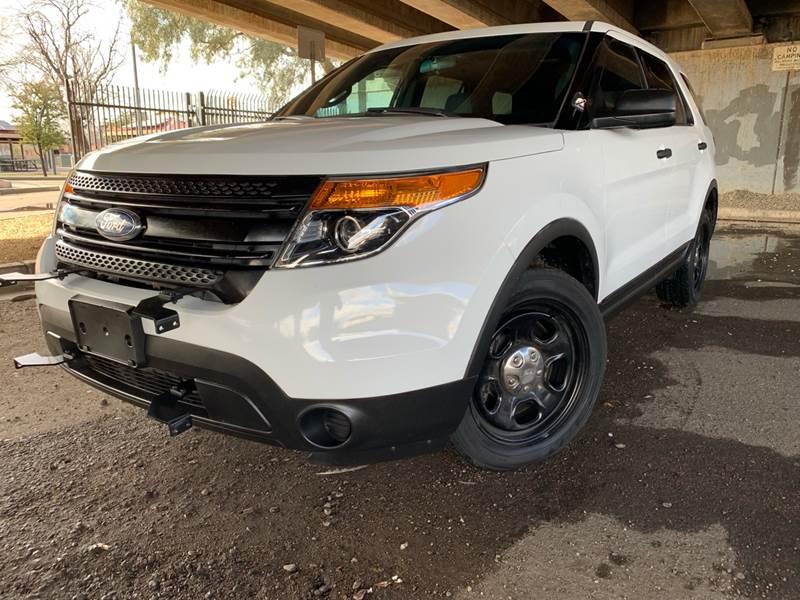 2013 ford police interceptor utility oil type