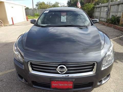 2012 Nissan Maxima for sale at Laguna Niguel in Rosenberg TX