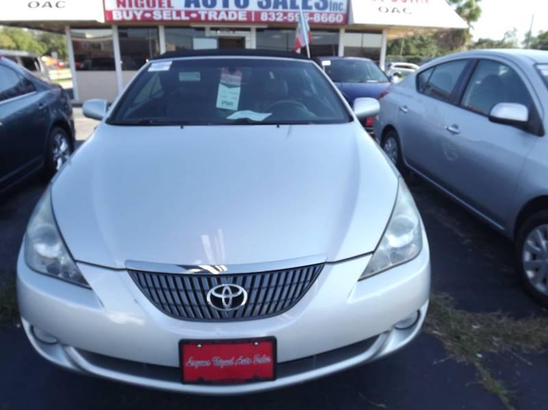 2005 Toyota Camry Solara for sale at Laguna Niguel in Rosenberg TX