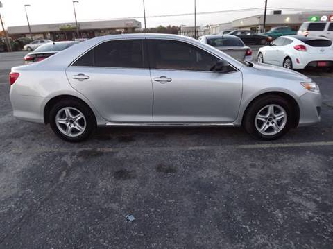 2013 Toyota Camry for sale at Laguna Niguel in Rosenberg TX