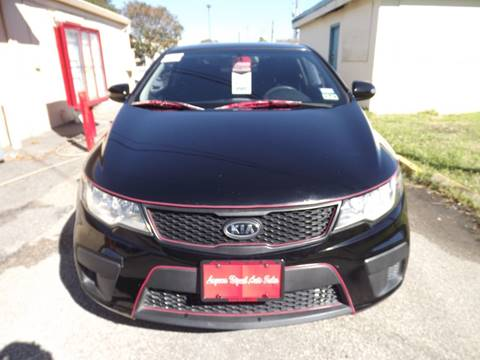 2010 Kia Forte Koup for sale at Laguna Niguel in Rosenberg TX