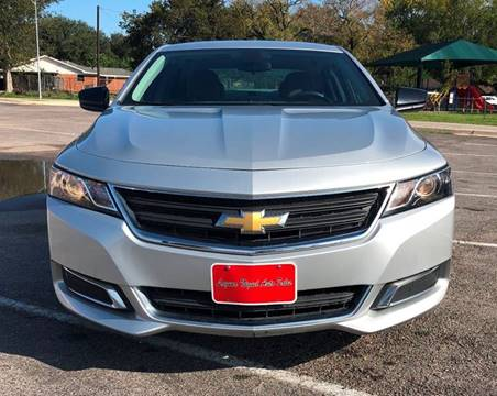 2016 Chevrolet Impala for sale at Laguna Niguel in Rosenberg TX
