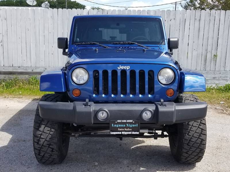 2010 Jeep Wrangler Unlimited for sale at Laguna Niguel in Rosenberg TX