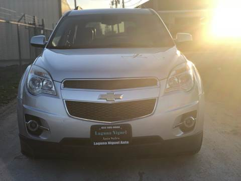 2013 Chevrolet Equinox for sale at Laguna Niguel in Rosenberg TX