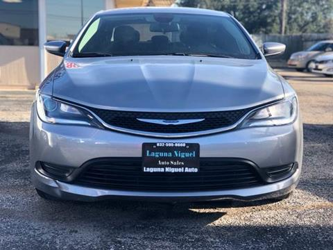 2016 Chrysler 200 for sale at Laguna Niguel in Rosenberg TX