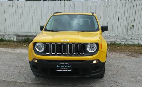 2017 Jeep Renegade for sale at Laguna Niguel in Rosenberg TX